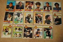 Vintage 1970s Bears Topps Football Cards Lot Butkus Farmer Douglass Huff... - $18.00
