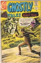Ghostly Tales Comic Book #63, Charlton Comics 1967 FINE+/VERY FINE- - $18.79