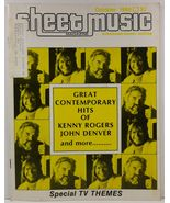 Sheet Music Magazine October 1980 Standard Piano/Guitar - $3.99