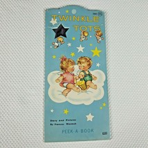 Vintage 1960s Twinkle Tots Peek A Book Toddler Angels Frances Wosmek - $29.65