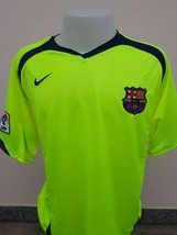 Barcelona #10 Ronaldinho Nike 2005-2006 Jersey Soccer Football Maillot M... - $50.98
