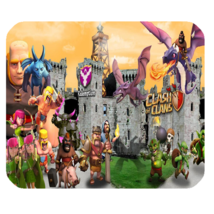 Mouse Pad Clash of Clans Fortress Castle Battle Heroes Video Game For An... - $114,73 MXN