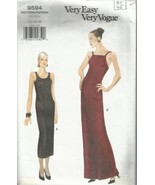 Very Easy Very Vogue Pattern #9594-Misses Dress in Sizes 12-14-16 - $7.66