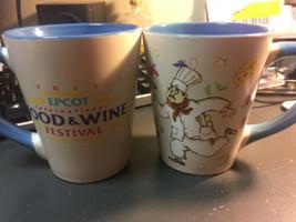 2 Walt Disney World Epcot International Food and Wine Festival 2013 mugs  - $28.00