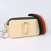 Marc Jacobs Snapshot Small Camera Bag Crossbody Bag Biscuit Auth - $209.00