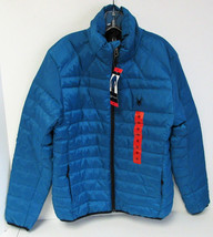 Spyder Men's Puffer Down Prymo Jacket -Warmth without the Weight-Cobalt/... - $148.47