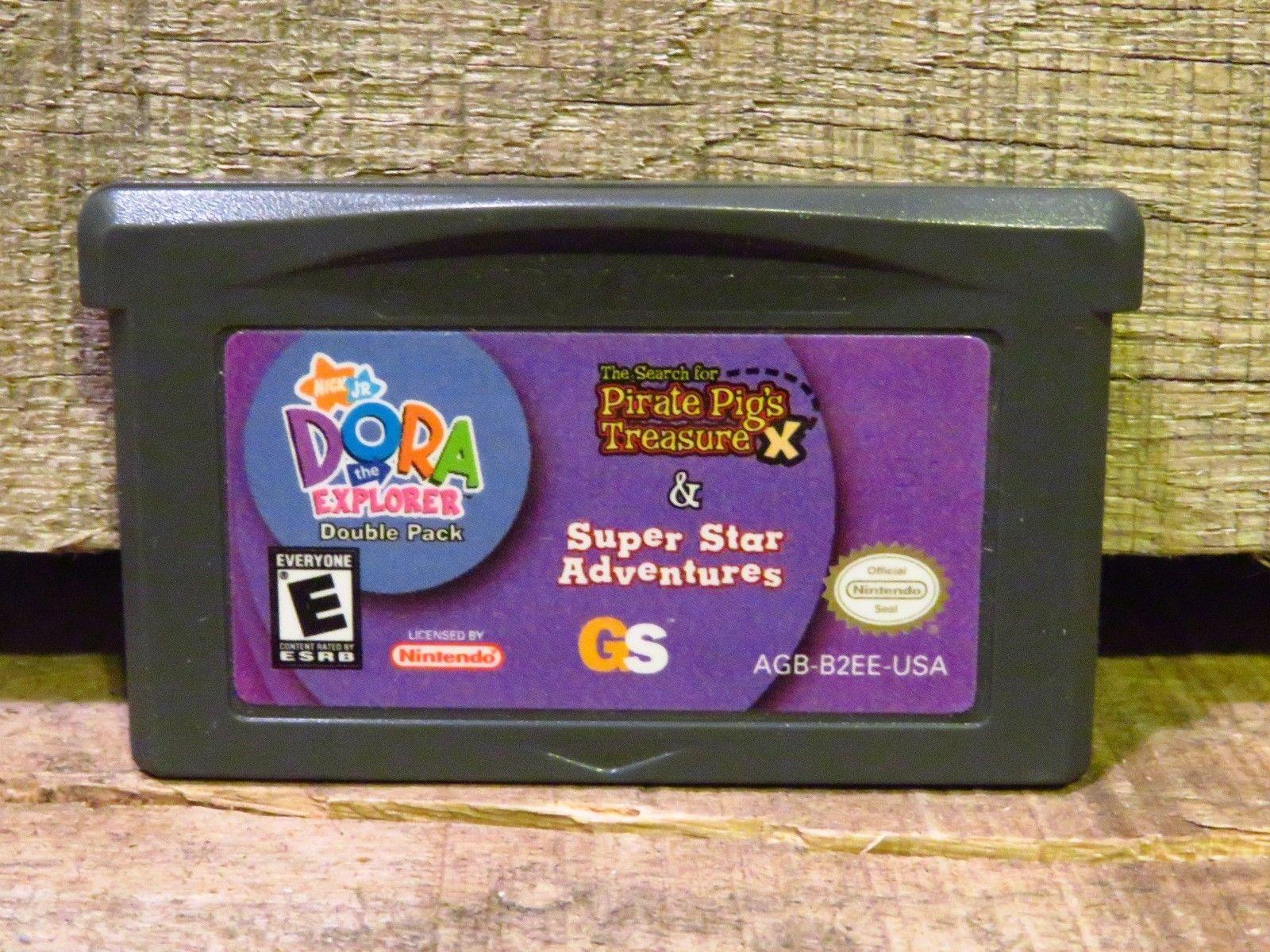 2 Giochi in 1 Double Pack : Dora The Explorer (Nintendo Game Boy Advance, 2007)