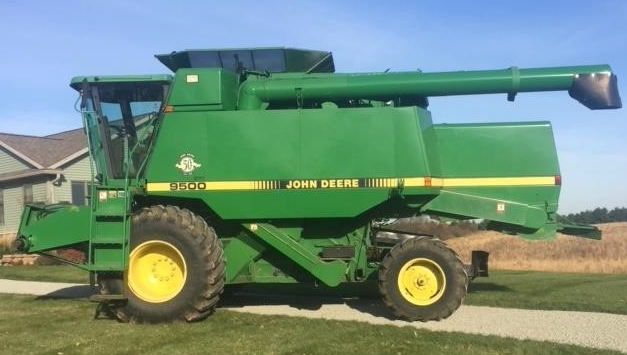 1997 JOHN DEERE 9500 For Sale In West Concord, Minnesota 55985