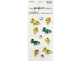 The Paper Studio Dinosaur Adhesive Gem Stickers #1987353