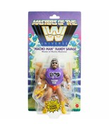 WWE Mattel Masters Of The Universe Macho Man Randy Savage Wrestling Figu... - £28.50 GBP