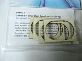 Soundtraxx #810139 Oval Speaker Gasket Kit  28mm X 40mm For 810078 Speaker image 2