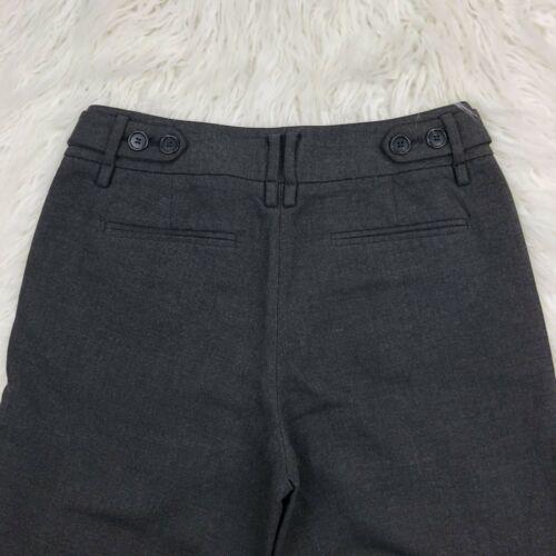 Ann Taylor Loft Women's Size 2 Dark Gray Boot Leg Dress Pants  image 4