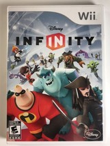 Disney Infinity Wii Game Disc, Manual and Case (Wii, 2006)  - $8.81