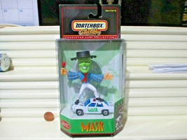 """Matchbox Collectibles Jim Carrey """"The Mask"""" Character Ford Police Car Nu In Box - $33.65"""