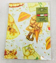 MIP 1979 American Greetings Paper Doll Wrapping Paper UnCut  2.5 Ft x 1.... - $14.36