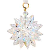 Small Aurora Borealis Crystal Suncluster Ornament image 1