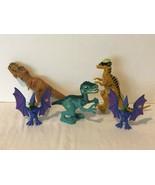 Jurassic World Dinosaur Lot JW Playskool Heroes 2015 Chomping Pterodacty... - $24.99