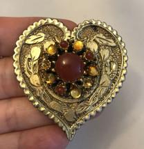Rare vintage heart pin - $3.96