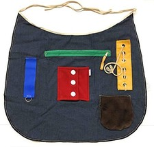Ecovona - Special Needs Sensory Therapy Activity Apron Adult Size for Se... - $35.64