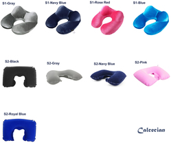 U-Shape Travel Pillow Airplane Inflatable Neck Pillow Travel Accessories - $6.90