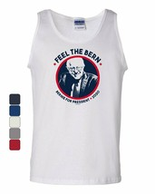 Feel the Bern Tank Top Democrat Bernie Sanders for President 2020 Sleeve... - $8.86+