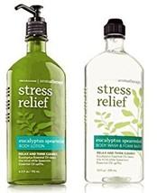 Bath & Body Works Aromatherapy Stress Relief - Eucalyptus + Spearmint Bo... - $40.06