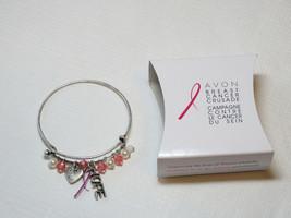 Ladies Womens Avon Breast Cancer Crusade Charm Bracelet F3983781 NIP - $24.74