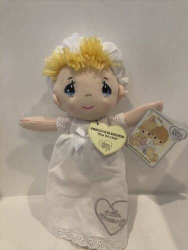 "Primary image for Aurora Precious Moments - Precious Blessings Girl 10"" Plush Doll"