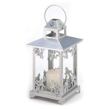 Silver Scrollwork Candle Lantern 10039891 - $32.09