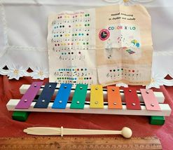 VINTAGE COLOR XYLO RIGHT-TIME TOYS CHILDHOOD INTERESTS ROSELLE PARK NJ image 3