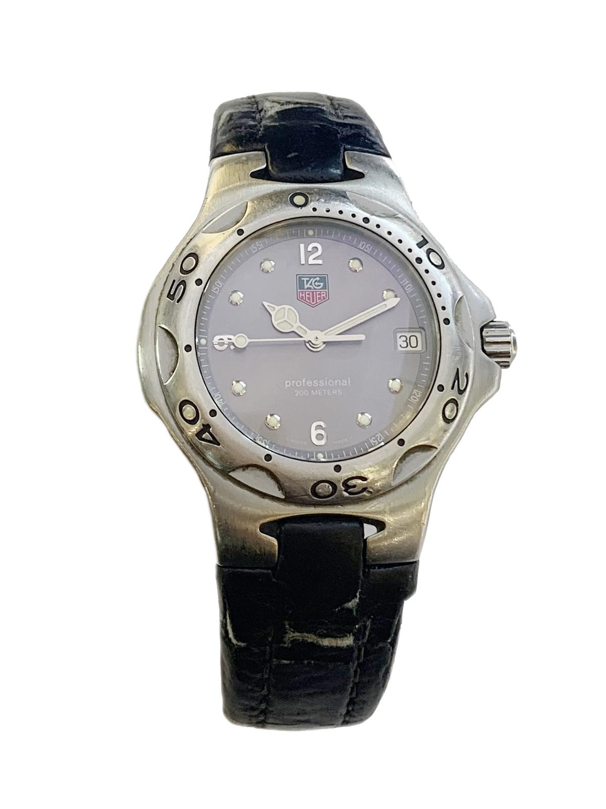 TAG Heuer Kirium Professional Stainless Steel Watch WL1111 - $380.00