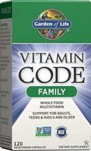 Garden of Life Multivitamin for Women, Men & Kids Age 6 and up, Vitamin Code Fam - $42.56