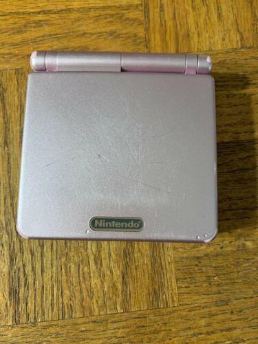 Nintendo Game Boy Advance Sp Lancement Édition Portable Système - Perle Rose