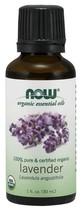 Now Foods Organic Lavender Essential Oils 100% Pure Vegan 1 oz/ 30 ml - $16.35