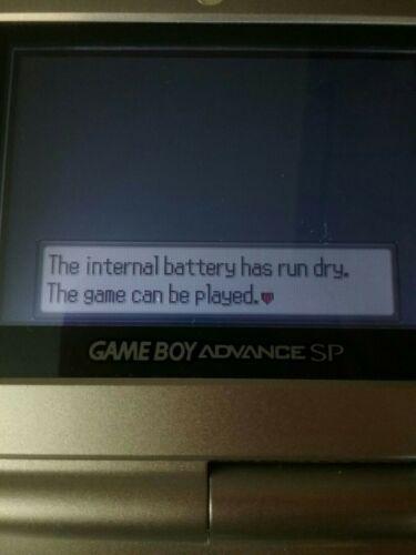 Pokemon Sapphire Authentic Game Boy Advance No Label image 6