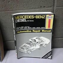 Haynes Mercedes Benz Diesel (2W3-697) 123 Series 1976 -1985 Repair Manua... - $13.98