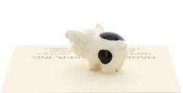 Hagen-Renaker Miniature Ceramic Pig Figurine Spotted Piglets Standing & Sitting image 5