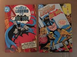 The Untold Tales Of The Batman 1 & 3 Batman Cereal Comic Books 1993 VF C... - $7.27