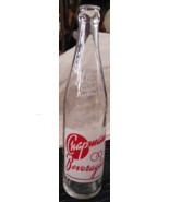 Vintage Chapman's Beverages 1 Pint Soda Pop Bottle from Saginaw, MI - Ne... - $8.00