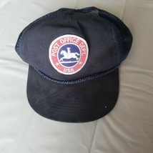 Vintage Post Office Dept USA Cap Hat USPS Snapback Rope  - $27.71