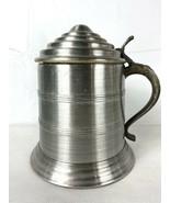 """Alluminum Tankard Beer Stein Ice Bucket 10"""" tall 8"""" diameter - $74.95"""