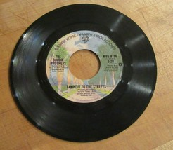 The Doobie Brothers 45 RPM Vinyl Record Takin' It To The Streets - £3.81 GBP