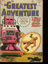 MY GREATEST ADVENTURE #35 1959 MONSTER ROBOT COVER G - $25.22