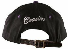 Cousins SportsWear Men's Hollywood Directors Leather Strapback Baseball Hat NWT image 4