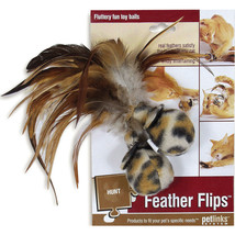 Worldwise Feather Flips Feathered Ball Cat Toy 7.8 Ounce - $24.36 CAD