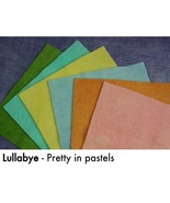 Lullabye WDW WOOL BUNDLE - SHOW SPECIAL ONLY 8x8 squares Weeks Dye Works - $30.00