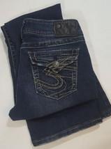 Silver Suki Surplus jeans 28x32 A1 - $32.71
