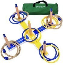 EVERICH TOY Yard Games for Kids and Adults-Ring Toss Game for Kids-Lawn ... - £42.52 GBP