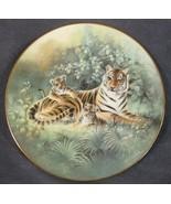 The Siberian Tiger Collector Plate China's Natural Treasures Tan Chun Chiu Cats - $17.00