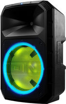 Total PA System Bluetooth Wireless Portable Speaker LED Lights ION Audio Plus image 3